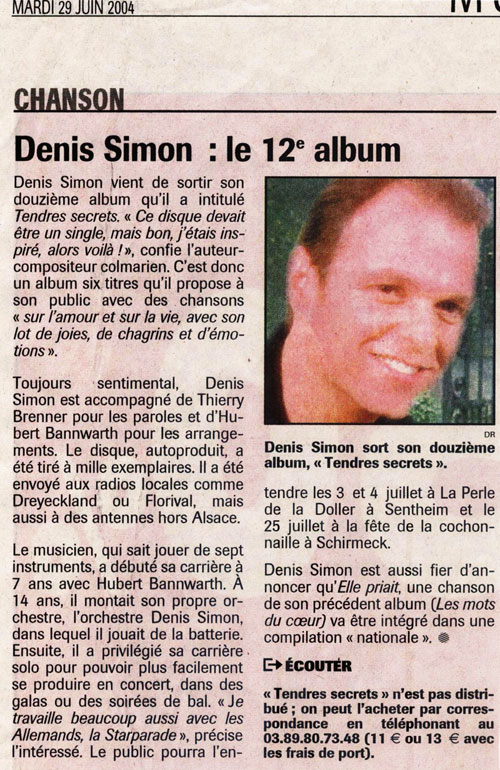 Denis simon presse for Denis article de bureau